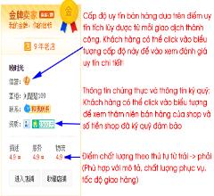 Cách đặt hàng và nhận biết shop uy tín trên taobao